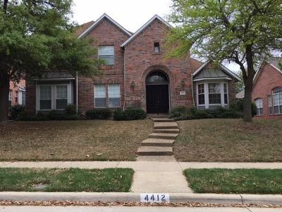 Plano Single Family Home For Sale: 4412 Lone Tree Drive