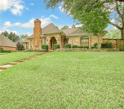 Colleyville Single Family Home Active Option Contract: 4004 Plantation Court