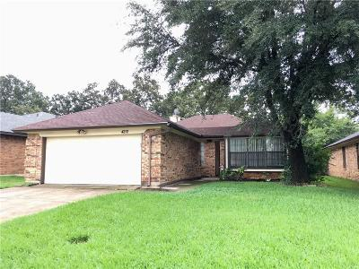 Arlington Single Family Home For Sale: 4212 Rye Glen Drive