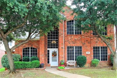 Lewisville Single Family Home For Sale: 460 Hayden Drive