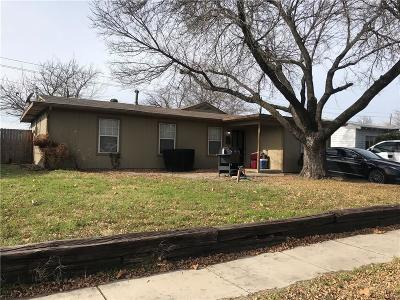 Grand Prairie Single Family Home For Sale: 1038 Shawnee Trace
