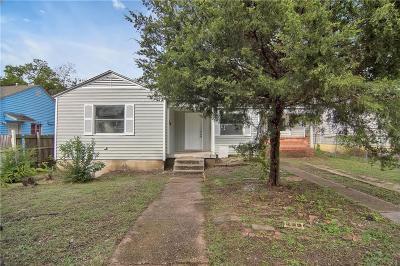 Dallas Single Family Home For Sale: 3035 Utah Avenue