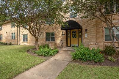 Dallas Condo For Sale: 5805 Sandhurst Lane #A