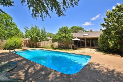 Abilene Single Family Home For Sale: 1317 Canterbury Drive