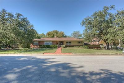 Fort Worth Single Family Home For Sale: 100 Hazelwood Drive