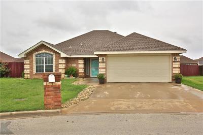Abilene Single Family Home For Sale: 4826 Coyote Run