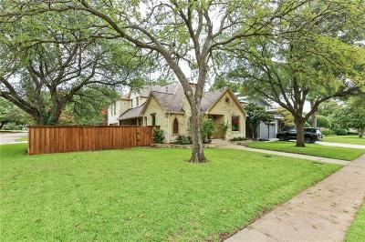 Dallas Single Family Home For Sale: 9718 Lakemont Drive