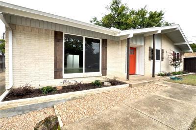 Richardson Single Family Home Active Option Contract: 630 Cambridge Drive