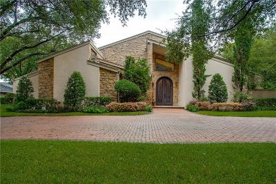 Dallas Single Family Home For Sale: 6809 Bert Lane
