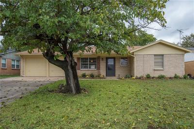 Euless Single Family Home Active Option Contract: 713 Ranger Street
