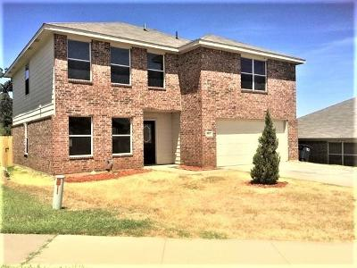 Fort Worth Residential Lease For Lease: 8021 Colbi Lane