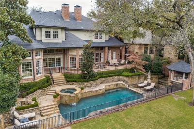 Allen, Dallas, Frisco, Garland, Lavon, Mckinney, Plano, Richardson, Rockwall, Royse City, Sachse, Wylie, Carrollton, Coppell Single Family Home For Sale: 17915 Cedar Creek Canyon Drive