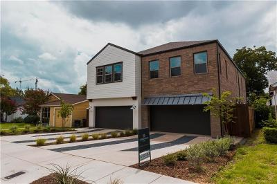 Fort Worth Townhouse For Sale: 3723 Harley Avenue