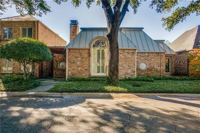 Dallas Single Family Home For Sale: 7 Saint Laurent Place