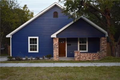 Fort Worth Single Family Home For Sale: 2318 Lee Avenue
