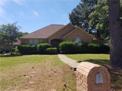 Tyler Single Family Home For Sale: 1621 Cimmarron Trail