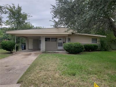Fort Worth Residential Lease For Lease: 5409 Wedgwood Drive