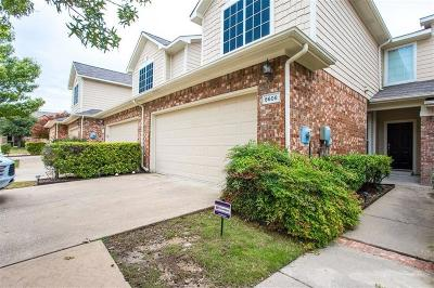 Plano Townhouse For Sale: 8608 Brunswick Drive