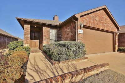 Fort Worth Single Family Home For Sale: 2629 Frisco Wood Drive
