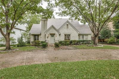 Dallas County Single Family Home For Sale: 3124 Greenbrier Drive