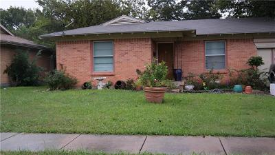 Mesquite Single Family Home For Sale: 1512 Rosemont Street