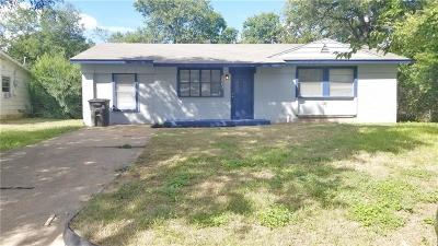 Fort Worth Residential Lease For Lease: 5563 Richardson Street