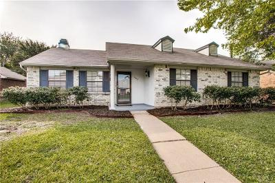 Allen Single Family Home For Sale: 1302 Clearview Drive