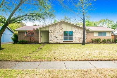 Farmers Branch  Residential Lease For Lease: 14521 Cyprus Point Drive