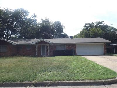 North Richland Hills Single Family Home For Sale: 7816 Arnold Terrace