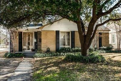 Single Family Home For Sale: 7210 Robin Road
