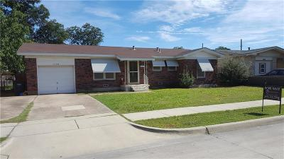 Fort Worth Single Family Home For Sale: 4108 Decatur Avenue