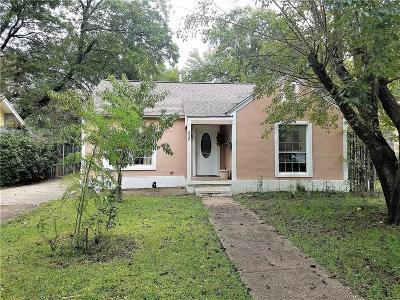 Dallas Single Family Home For Sale: 820 N Edgefield Avenue