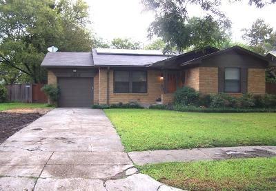 Dallas Single Family Home For Sale: 2415 Highwood Drive