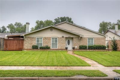 Garland Single Family Home For Sale: 1829 Palo Duro Drive