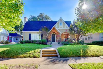 Fort Worth TX Single Family Home For Sale: $579,000