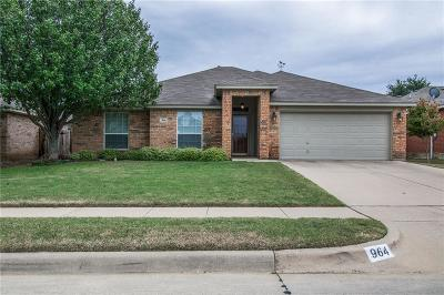 Crowley Single Family Home For Sale: 964 Crowder Drive