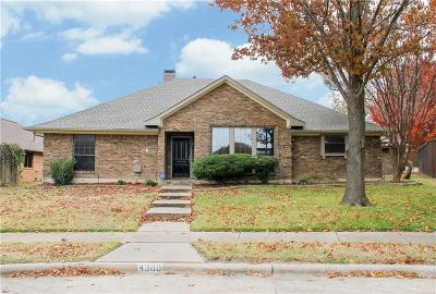 Plano Single Family Home For Sale: 4300 Driftwood Drive