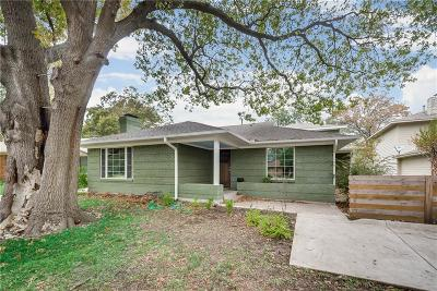 Dallas, Fort Worth Single Family Home For Sale: 7133 Westbrook Lane