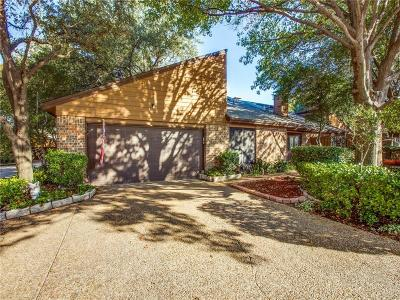 Farmers Branch Townhouse For Sale: 3302 Water Oak Court