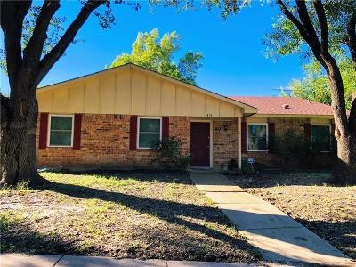 Garland Single Family Home For Sale: 413 Peaceful Drive