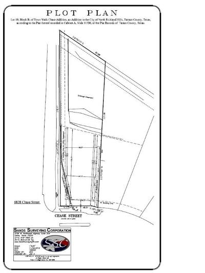 North Richland Hills Residential Lots & Land For Sale: 6828 Chase Street