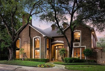 Single Family Home For Sale: 8006 Glen Albens Circle