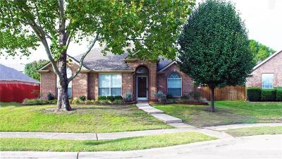 Frisco Single Family Home Active Option Contract: 10404 Vintage Drive