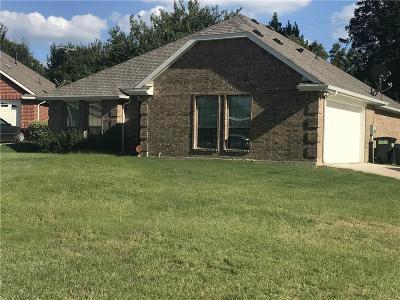 Ennis Single Family Home Active Contingent: 605 Oakmont Drive