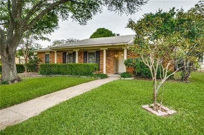 Dallas Single Family Home For Sale: 8519 Van Pelt Drive