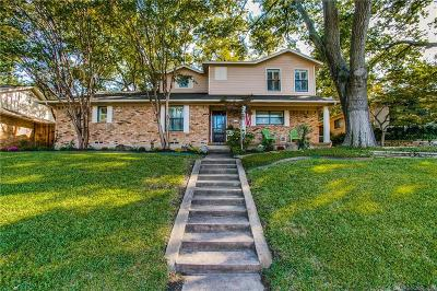Dallas Single Family Home Active Option Contract: 9210 Clearhurst Drive