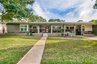 Arlington Single Family Home Active Option Contract: 1704 W 2nd Street