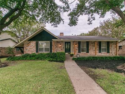 Richardson Single Family Home For Sale: 718 Brentwood Lane