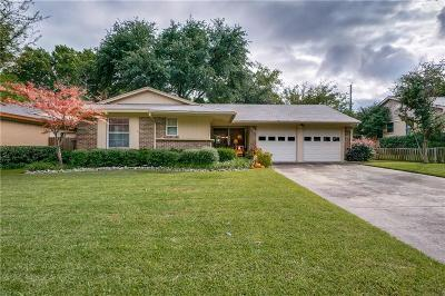 Richardson Single Family Home Active Option Contract: 1239 Cypress Drive