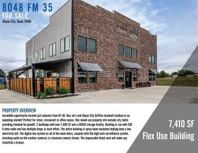 Royse City, Union Valley Commercial For Sale: 8048 Fm 35